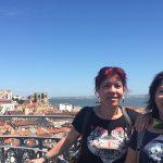 Asansörün tepesinden Lizbon
