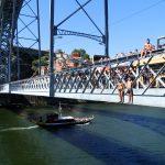 Porto, köprüden böyle atlanır...