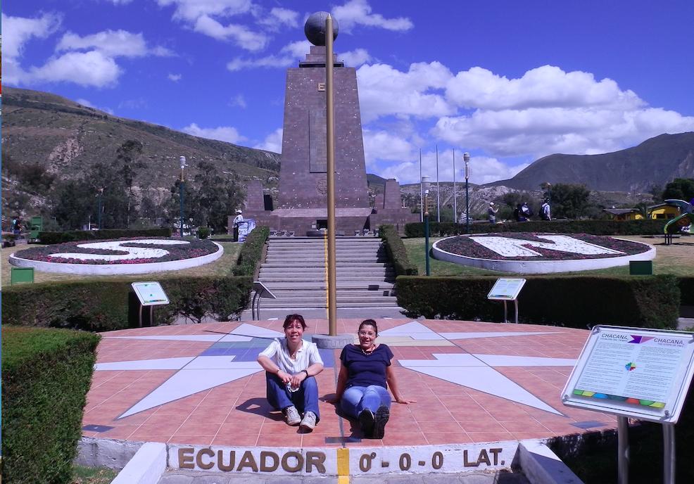 Ecuador line, Quito